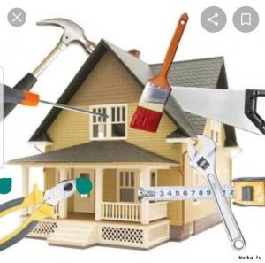 Крыша, фасад, отделочные работы, сантехника, электрика