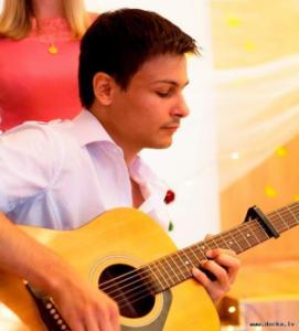 Уроки игры на акустической гитаре