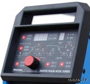 сварочное оборудование SHERMAN DIGITIG PULSE AC DC 200GD