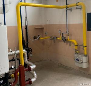 Ārējo un iekšējo gāzes tīklu projektēšana un būvniecība. Sadales